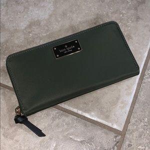 Olive Green Kate Spade Wallet